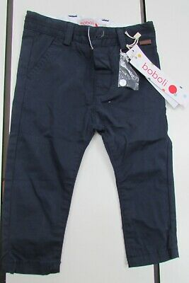 'Boboli' new with tags baby boys navy skinny jeans, age 12 months, RRP = £18.80