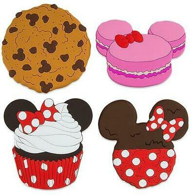 Disney Magnet Set - Mickey & Minnie Sweet Treats - Set Of 4