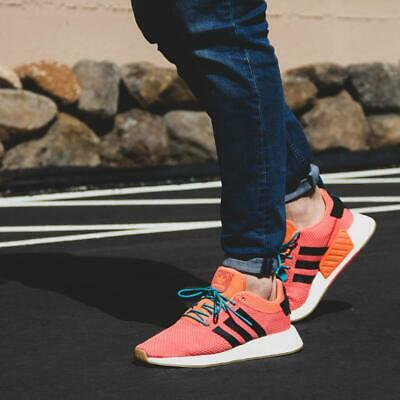 NEW MEN'S ADIDAS NMD R2 Summer Spice Trace Orange Gum White