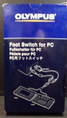 Olympus RS27 Transcription Foot Switch