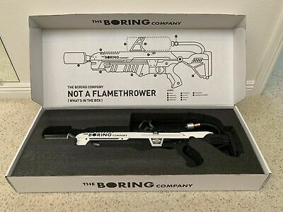 The Boring Company Not a Flamethrower