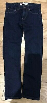 Boys Age 12 Dark Blue SKINNY Levi 510 Hardly Used