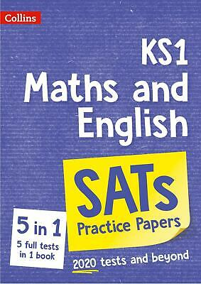 KS1 SATs MATHS & ENGLISH 5 PRACTICE TESTS PAPERS FOR TESTS IN 2020 ONWARDS