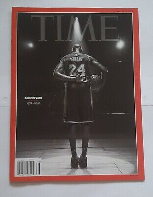 TIME Magazine KOBE Bryant Mamba Los Angeles Lakers 1978-2020 In Hand SHIP NOW!