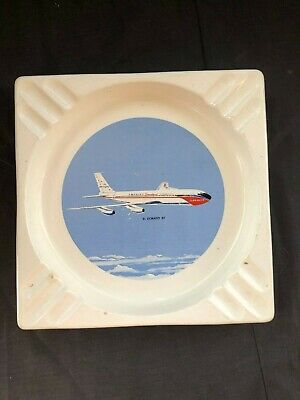Braniff El Dorado Jet Ashtray Herb Durham Dallas