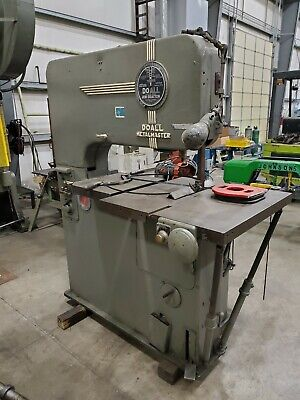 "DoALL Metalmaster Vertical Band saw 36"" throat, blade welder variable speed"