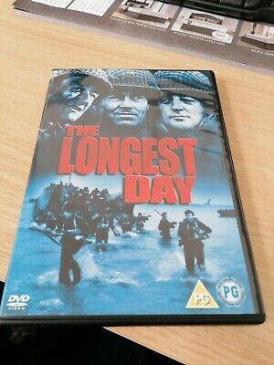 The Longest Day - Uk Release Dvd Played Once ! Great War Movie !