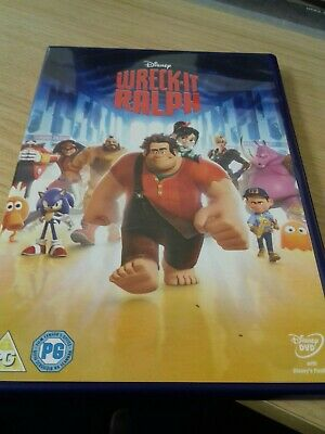 Disney Wreck It Ralph Uk Dvd Played Once Mint !