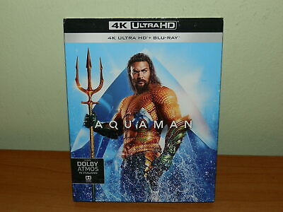Aquaman 4K Ultra Hd Blu-Ray Italiano