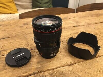Canon L-series 24-105mm F/4 L IS USM 1:4 L USM  Lens - Great Condition