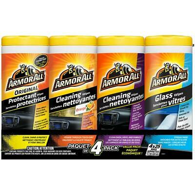 4 Piece Value Pack Cleaning Car Wipes