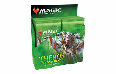 MTG Theros Beyond Death Collector Booster Box (12 pks) NEW Fast Free Ship