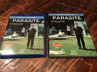 Parasite Blu-ray & slipcover - Blu Ray - Like New No Digital - 2019 Best Picture