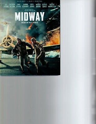 MIDWAY 2019 DVD ONLY  no artwork, not in original package  FAST SHIPPING
