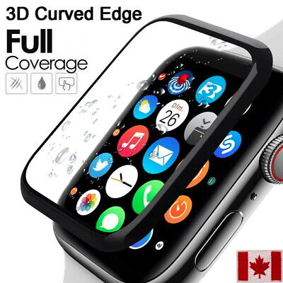 Full Coverage Apple Watch Tempered Glass Screen Protector For Series 5/4/3/2/1