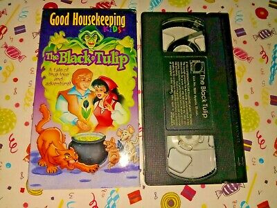 Good Housekeeping: The Black Tulip (VHS)