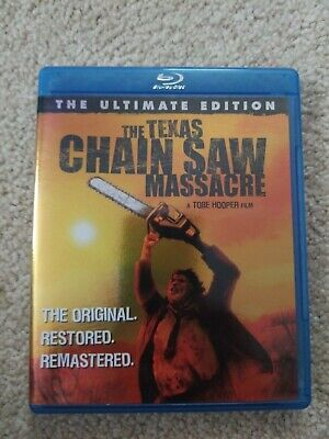 The Texas Chainsaw Massacre - Ultimate Edition (Blu-ray Disc, 2008). Tobe Hooper