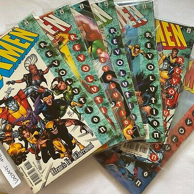 X-MEN GIANT SIZED SPECIAL #100 1991 MARVEL COMICS - (7 Variants Selling as lot)