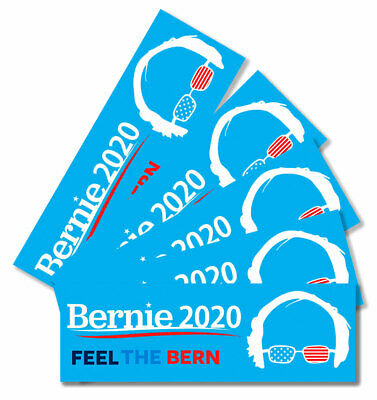 2020 Bernie Sanders President Feel The Bern Window Vehicle Bumper Sticker
