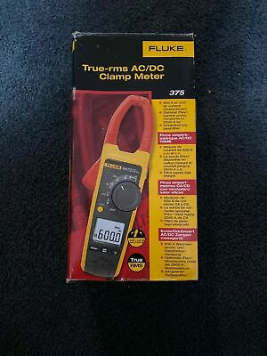 Fluke 375 True RMS Multimeter w/ Case and Leads