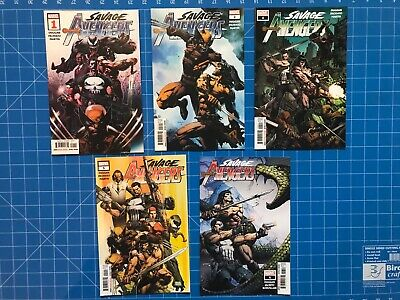 Savage Avengers - Issues 1, 2, 4, 5 & 6