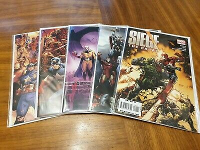 Siege # 1-4 The Cabal #1 Bendis