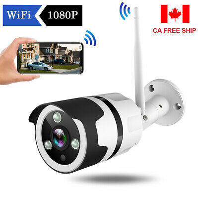 JOOAN HD 1080P Wireless WIFI Outdoor Home Security IP Camera Bullet Night Vision