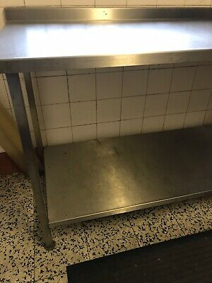 used commercial stainless steel table