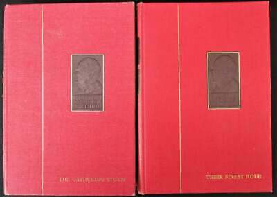 Winston Churchill Their Finest Hour and The Gathering Storm. Chartwell Editions