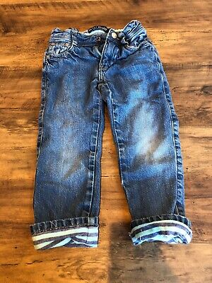 Boys Mini Boden Lined Jeans Age 3 Years