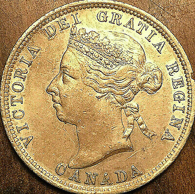 1901 CANADA SILVER 25 CENTS VICTORIA QUARTER -Fantastic example with shy luster!