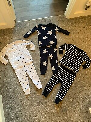 Baby Boys Next Pyjamas x Bundle size 12-18 months Worn Once