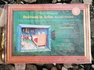 Bedroom in Arles Second Version diorama card model craft kit tatebanko