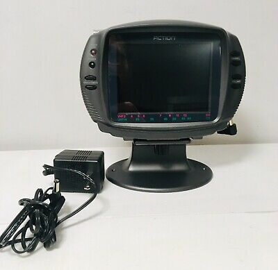 "ACTION 5"" LCD Color Monitor with TV (ACN-5507) Excellent"