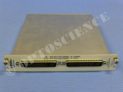 National Instruments NI SCXI-1166 32-Ch Relay Switch Module