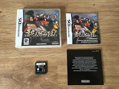 The Legend Of Kage 2 Nintendo Ds Juego Completo Pal España Nds Xl Dsi