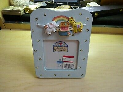 Burnes of Boston Susan Winget Noah's Ark Theme Picture Frame