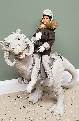"Star Wars, 1997 Collectors Series 12"" Han Solo Tauntaun. Kenner"