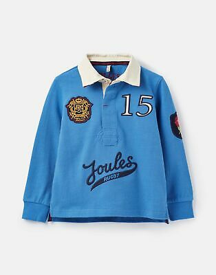 Joules Boys Union Rugby Shirt  - DARK BLUE Size 5yr