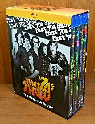 That 70s Show The Complete Series (Blu Ray, 16-Disc, 2017) Flashback Season 1-8
