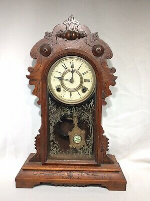 Antique New Haven Chiming Gingerbread Clock. **To Restore And Repair**