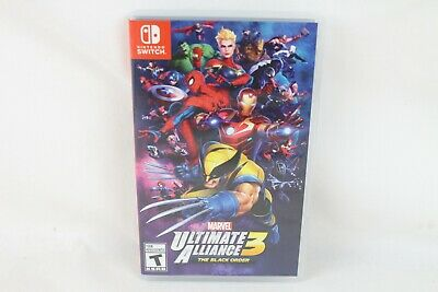 Marvel Ultimate Alliance 3 : The Black Order ( Nintendo Switch , 2019 Game )