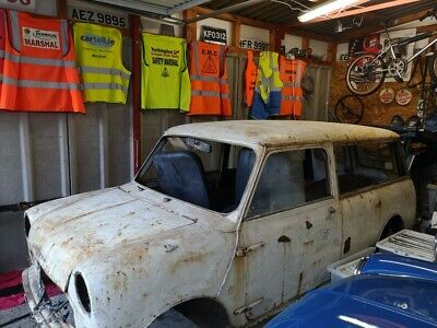 Barn Find/Restoration Morris Mini 1964 Estate 'Ultra Rare' assemble in Rhodesia
