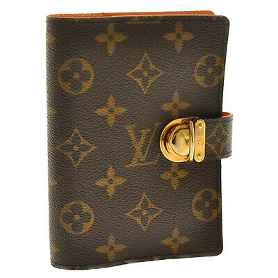 LOUIS VUITTON Monogram Agenda Coala Day Planner Cover R21015 LV Auth 9680