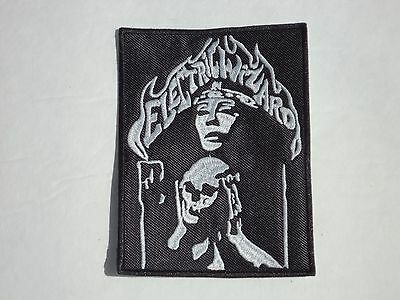 Electric Wizard Witch Doom Stoner Metal Embroidered Patch