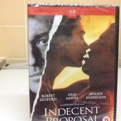 Indecent Proposal Widescreen (Dvd2002) New & Sealed