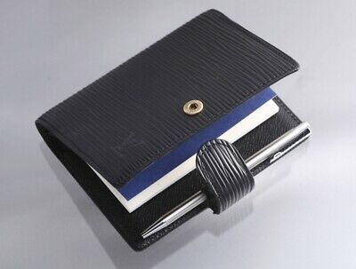 H7941M Authentic Louis Vuitton Epi Agenda Notebook Cover Mini