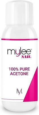 Mylee 100% Pure Acetone 300ml Superior Quality Nail Polish Remover UV/LED GEL So