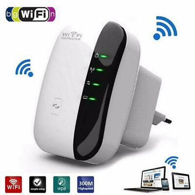 WiFi Range Extender Super Booster 300Mbps Superboost Speed Wireless Repeater AU
