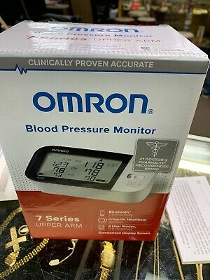 Omron 7 Series Upper Arm Blood Pressure Monitor BP7350 Bluetooth ~New in Box